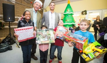 Cruz Companies Hosts First Annual Youth Holiday Celebration in Roxbury