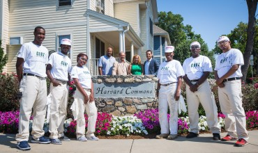 ​Cruz C.A.R.E.S Summer Works Program Creates Jobs for Area Youth at Harvard Commons Project in Dorchester