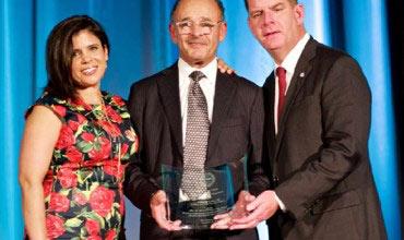 Mayor Walsh Presents 'We Are Boston Leadership Award' to Cruz Companies CEO John Cruz
