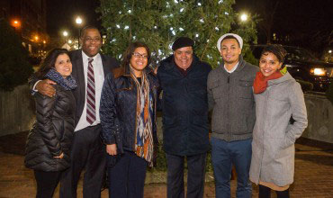 Roxbury Community Comes Together for Cruz Companies' 31st Annual Tree Lighting Ceremony