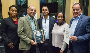 John Cruz Receives Black Family Legacy Award from Boston City Council